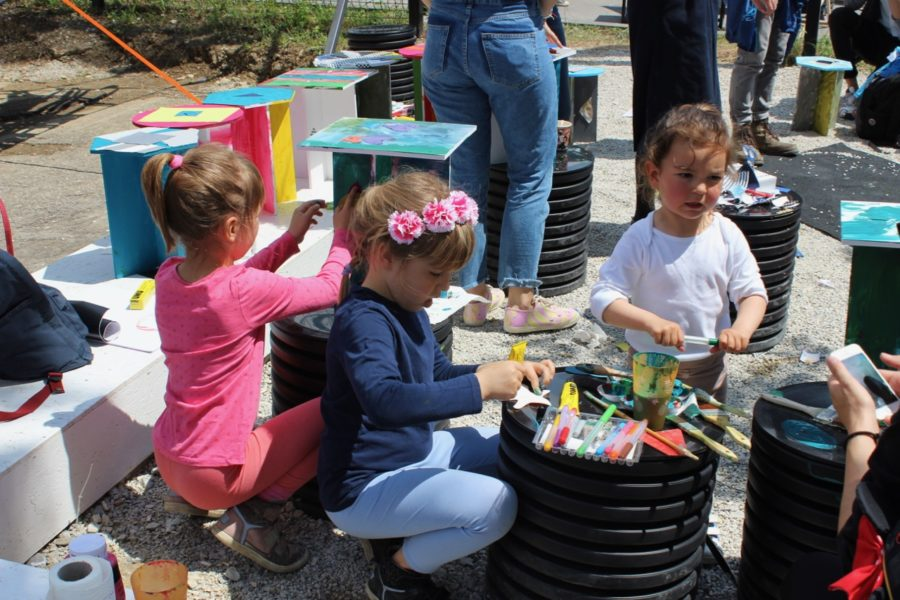 Brigada and children designed together during Design Week