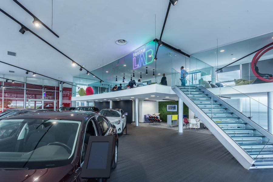 Neostar showroom