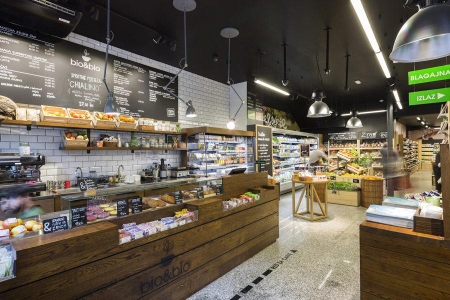 Upgrading bio&bio store concept