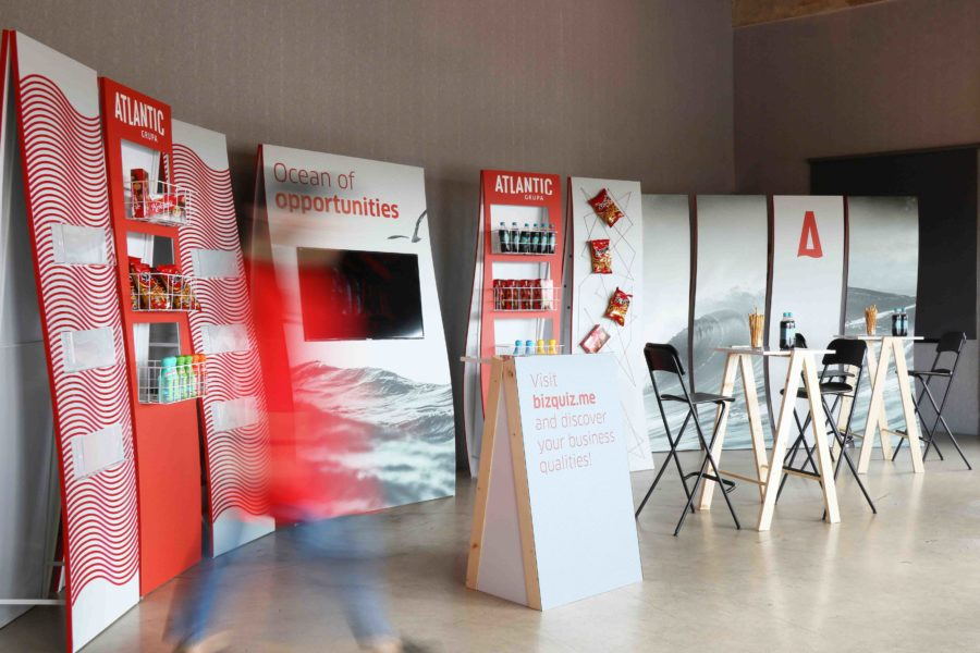Atlantic Experience stand