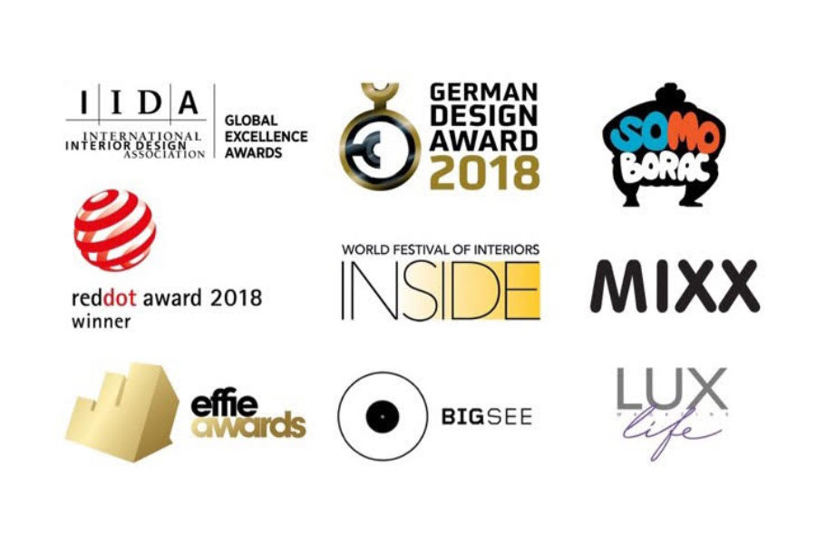Our work wins a host of design awards
