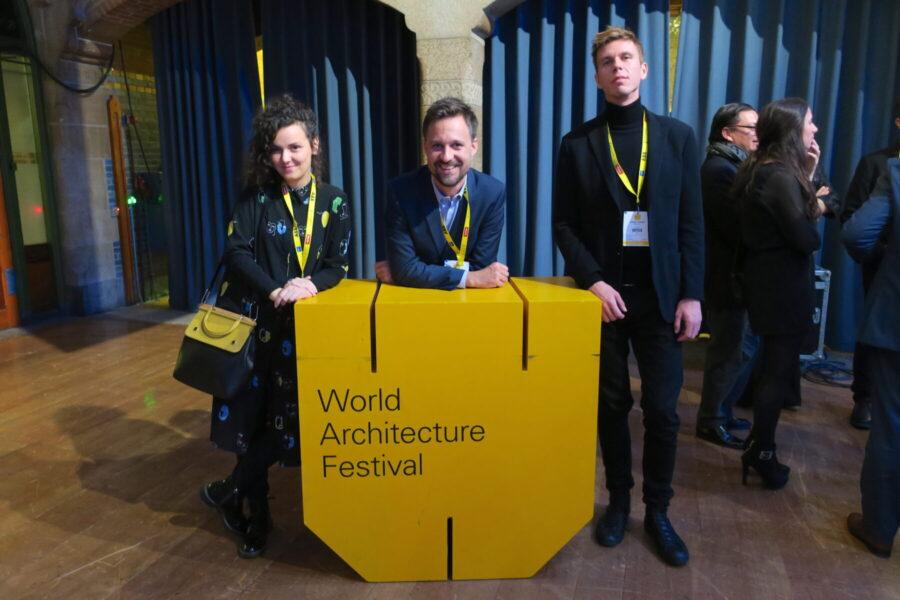 Brigada in the finals of World Architecture Festival in Amsterdam