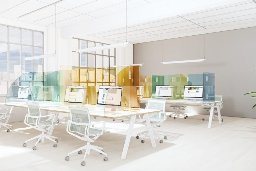 "Does the ""new normal"" mean the beginning of the end of traditional offices?"